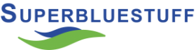 Super Blue Stuff logo